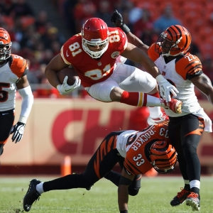 Kansas City Chiefs tight end Tony Moeaki