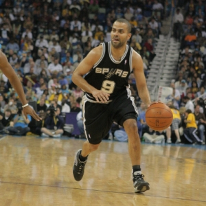 San Antonio Spurs guard Tony Parker.
