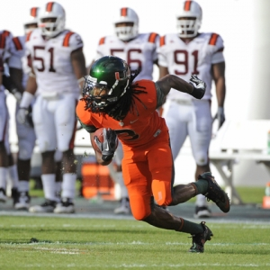 University of Miami wide receiver Travis Benjamin
