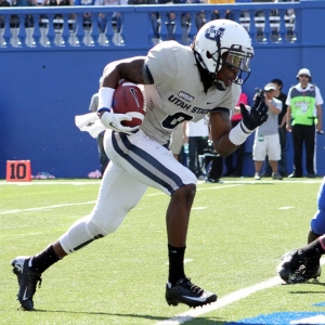 Utah State Aggie Wide Receiver Travis Reynolds