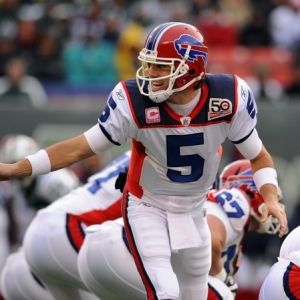 Buffalo Bills quarterback Trent Edwards.
