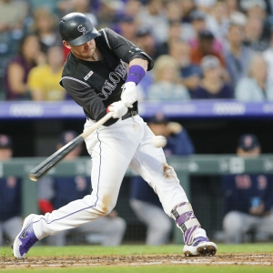 Trevor Story Colorado Rockies