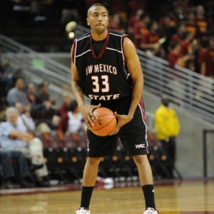 New Mexico State No. 33 Troy Gillenwater