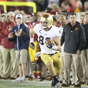 Tyler Eifert of the Notre Dame Fighting Irish