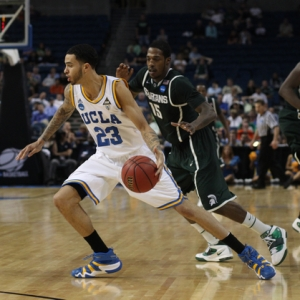 Forward Tyler Honeycutt (23) of the UCLA Bruins