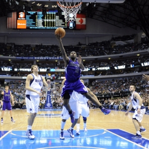 Sacramento Kings guard Tyreke Evans