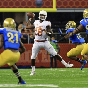Texas Longhorns quarterback Tyrone Swoopes