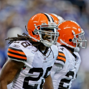 Cleveland Browns defensive back Usama Young