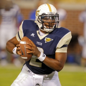 Georgia Tech Yellow Jackets quarterback Vad Lee