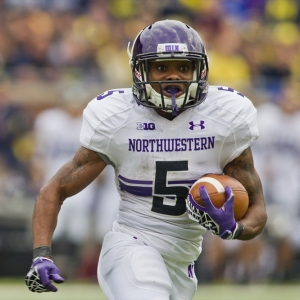 Northwestern running back Venric Mark
