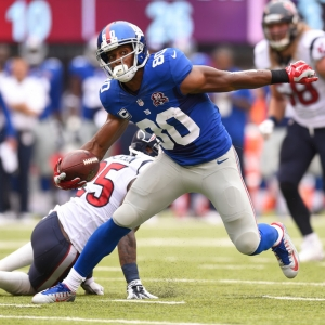 New York Giants wide receiver Victor Cruz