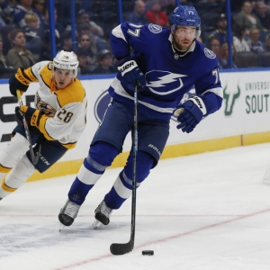 Tampa Bay Lightning defenseman Victor Hedman