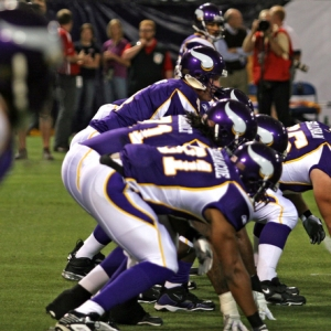 Minnesota Vikings line.