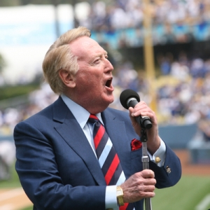 Vin Scully LA Dodgers broadcaster