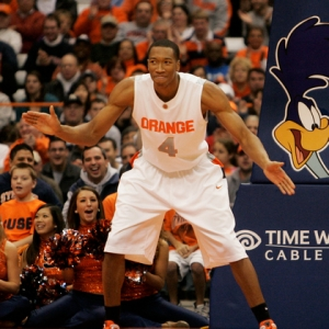 Syracuse forward Wesley Johnson.