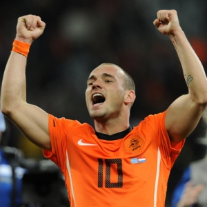 Wesley Sneijder of Holland