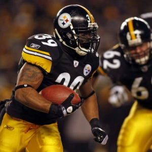 Pittsburgh Steelers Running Back Willie Parker.
