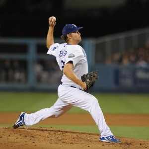 Clayton Kershaw of the LA Dodgers