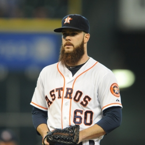 Astros pitcher Dallas Keuchel