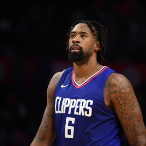 Los Angeles Clippers Center DeAndre Jordan
