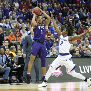TCU Horned Frogs guard Desmond Bane