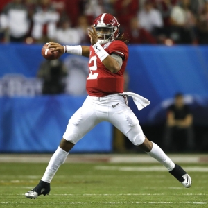 Alabama Crimson Tide quarterback Jalen Hurts