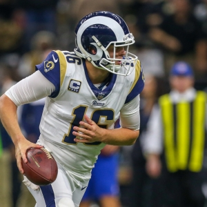 Los Angeles Rams quarterback Jared Goff