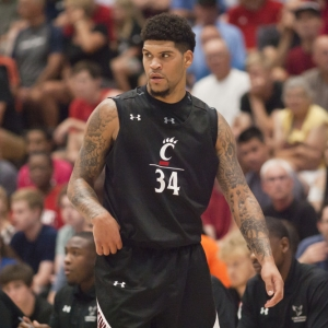 Jarron Cumberland of the University of Cincinnati Bearcats