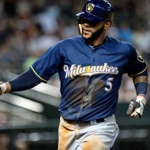 Jonathan Villar Milwaukee Brewers