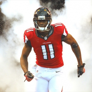 Atlanta Falcons wide receiver Julio Jones