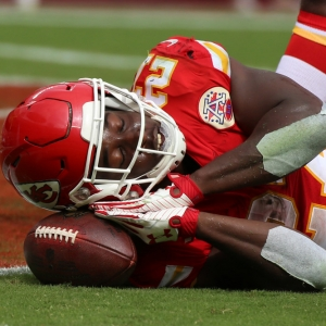 Kansas City Chiefs running back Kareem Hunt