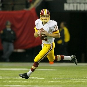 Washington Redskins quarterback Kirk Cousins