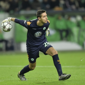 Koen Casteels goalkeeper of VfL Wolfsburg