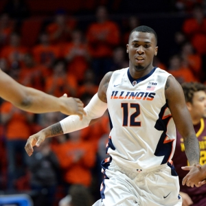 Leron Black Illinois Fighting Illini