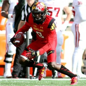 Maryland Terrapins wide receiver Levern Jacobs