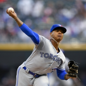 Toronto Blue Jays starting pitcher Marcus Stroman