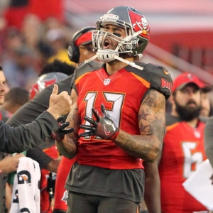 Mike Evans of the Tampa Bay Buccaneers