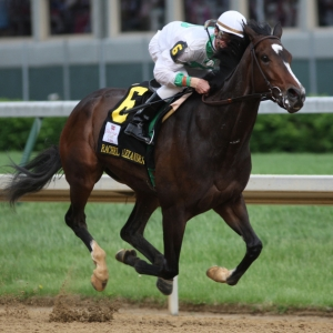 Rachel Alexandra is one of only three fillys to race in the Preakness Stakes in modern times.