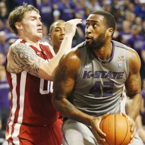 Thomas Gipson Kansas State Wildcats Basketball