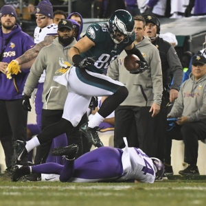 Philadelphia Eagles tight end Zach Ertz