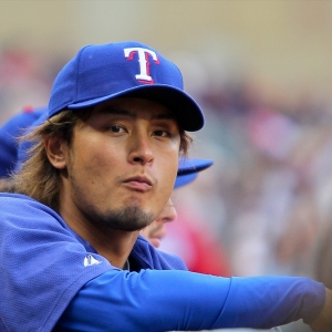 Yu Darvish of the Texas Rangers