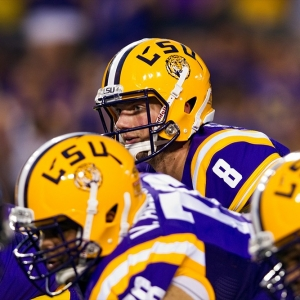 LSU Tigers quarterback Zach Mettenberger