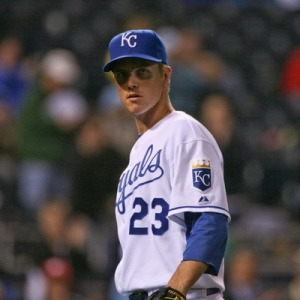 Zack Greinke, Royals pitcher.