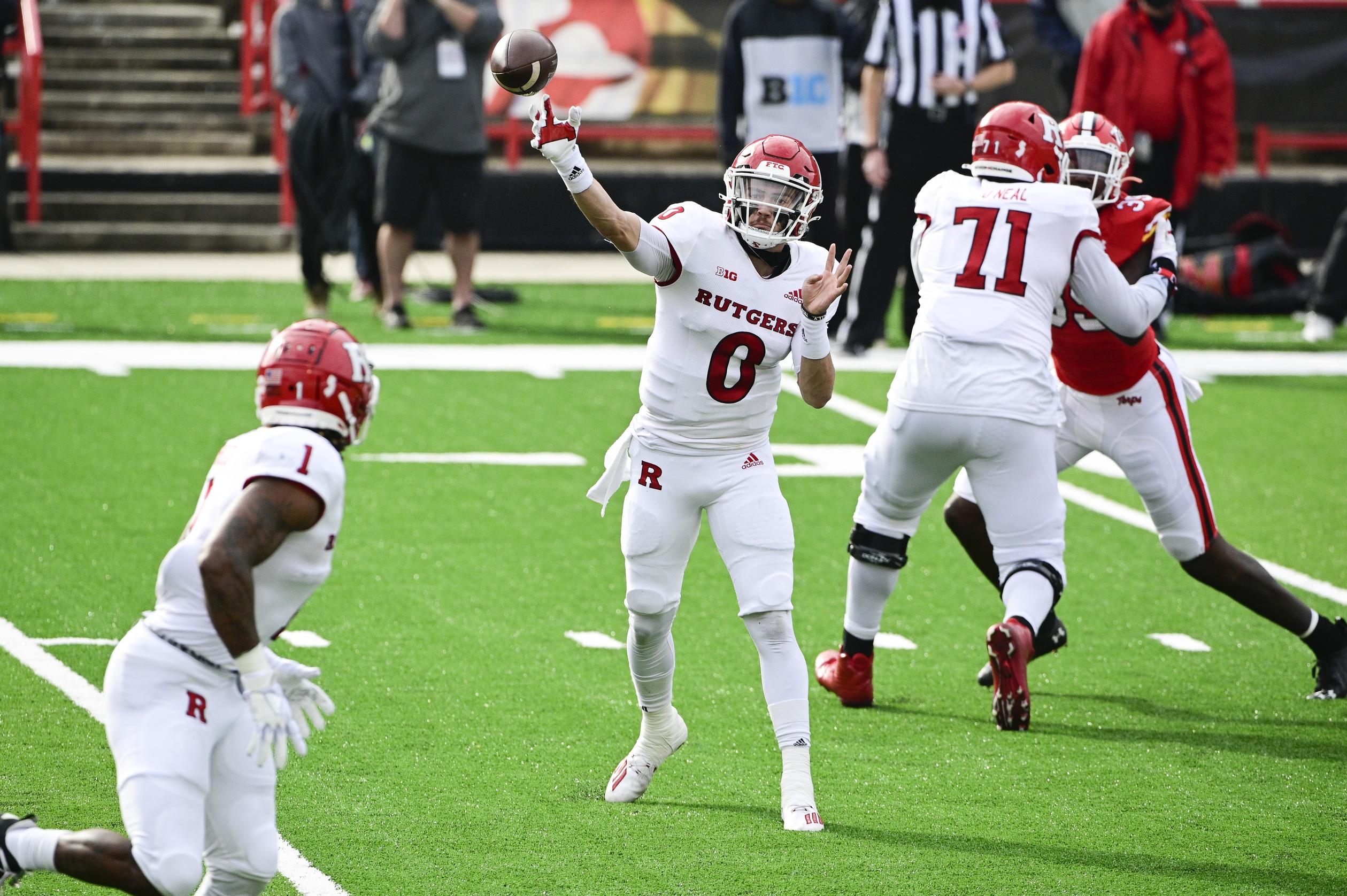 College football picks Noah Vedral Rutgers Scarlet Knights season predictions