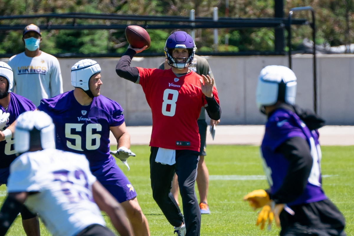 NFL picks Kirk Cousins Minnesota Vikings odds to win the Super Bowl