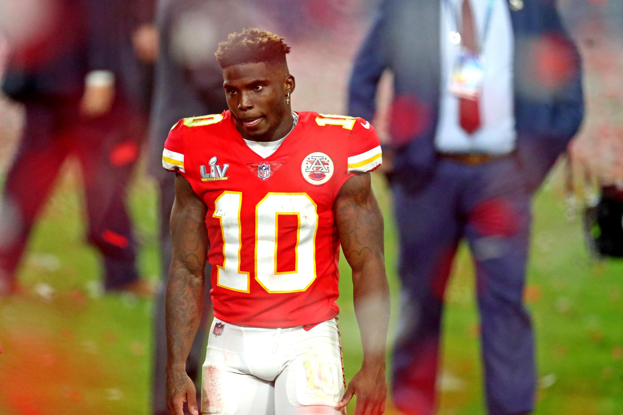 NFL picks Tyreek Hill Kansas City Chiefs odds to win the Super Bowl