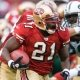Running back Frank Gore of the San Francisco 49ers.