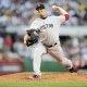 Boston Red Sox starting pitcher Jon Lester