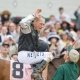 Mine That Bird shocked the world at the Kentucky Derby by winning as a 50-to-1 lonshot. The horse was ridden by Cavin Borel.