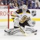 Boston Bruins goalie goalie Tim Thomas